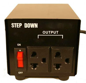 Step-down voltage converter 220 110
