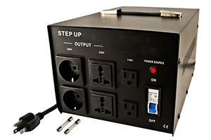 Step-up voltage converter