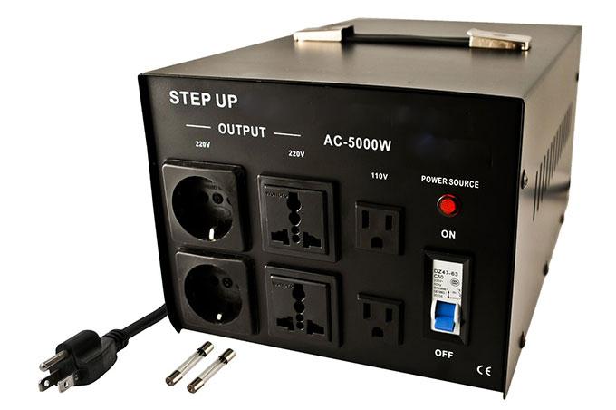 2000W Voltage Transformer Converter Step Up//Down Power Supply 220V to 110V