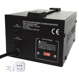travel voltage converter 500w